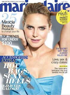 Heidi Klum Covers Marie Claire