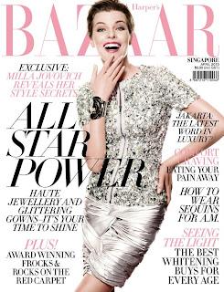 Mila Jovovich: Harper's Bazaar's Robot