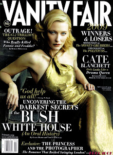 Cate Blanchett - Vanity Fair February 2009