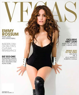 Emmy Rossum On The Cover of Vegas Magazine