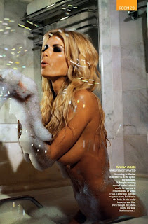 Marisa Miller Bathing in GQ Magazine August 2009