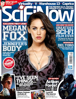 Megan Fox On The Cover SciFi Now Magazine