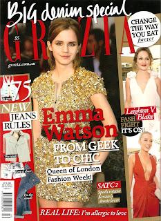 Emma Watson Does Grazia Magazine