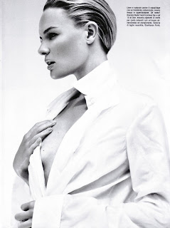 Kate Bosworth Barely Covering Her Nips for Vogue Italia