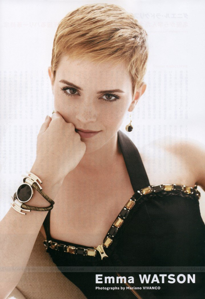emma watson short haircut 2010. 2010 Emma Watson cute short