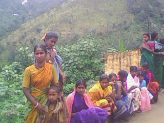 with Muthuva tribals