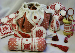 "Sewing Set ""Hearts"""