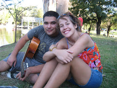 Abby and Maty en el parque