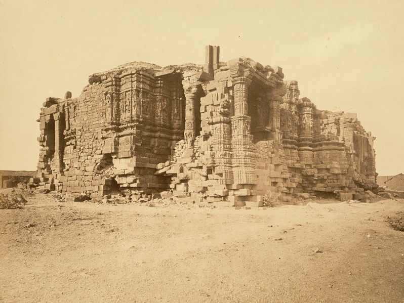 Somnath India  city images : Ruins of somnath temple from 1869
