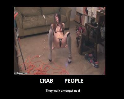 Naked Crab Walk 8
