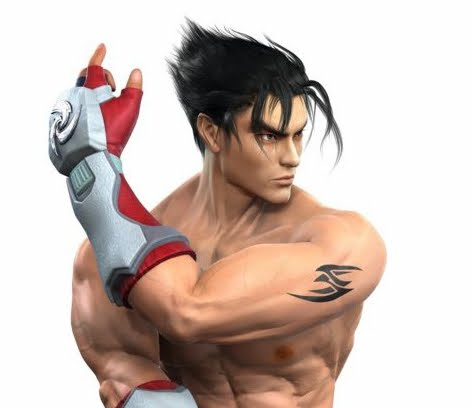 This is Jin Kazama, Kazuya's son. You would think that when your father is