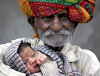 youngest father in world. Proud father: Nanu Ram Jogi
