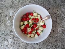 assortie à la salade du jour