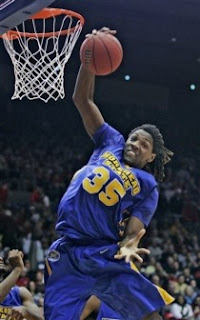 Morehead State Basketball's Kenneth Faried