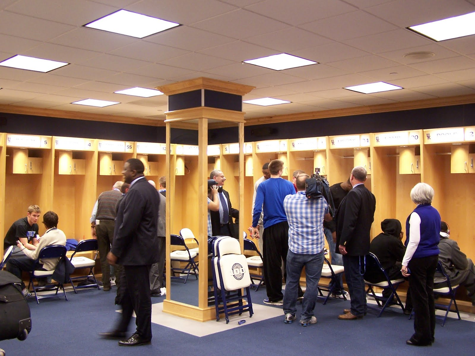 Rupp Arena Locker Room
