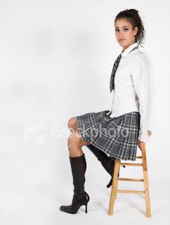 schoolgirl pee