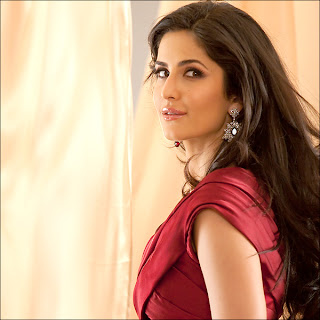 Katrina Kaif Hot Photos In Red Dress