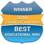 Best Educational Wiki 2010