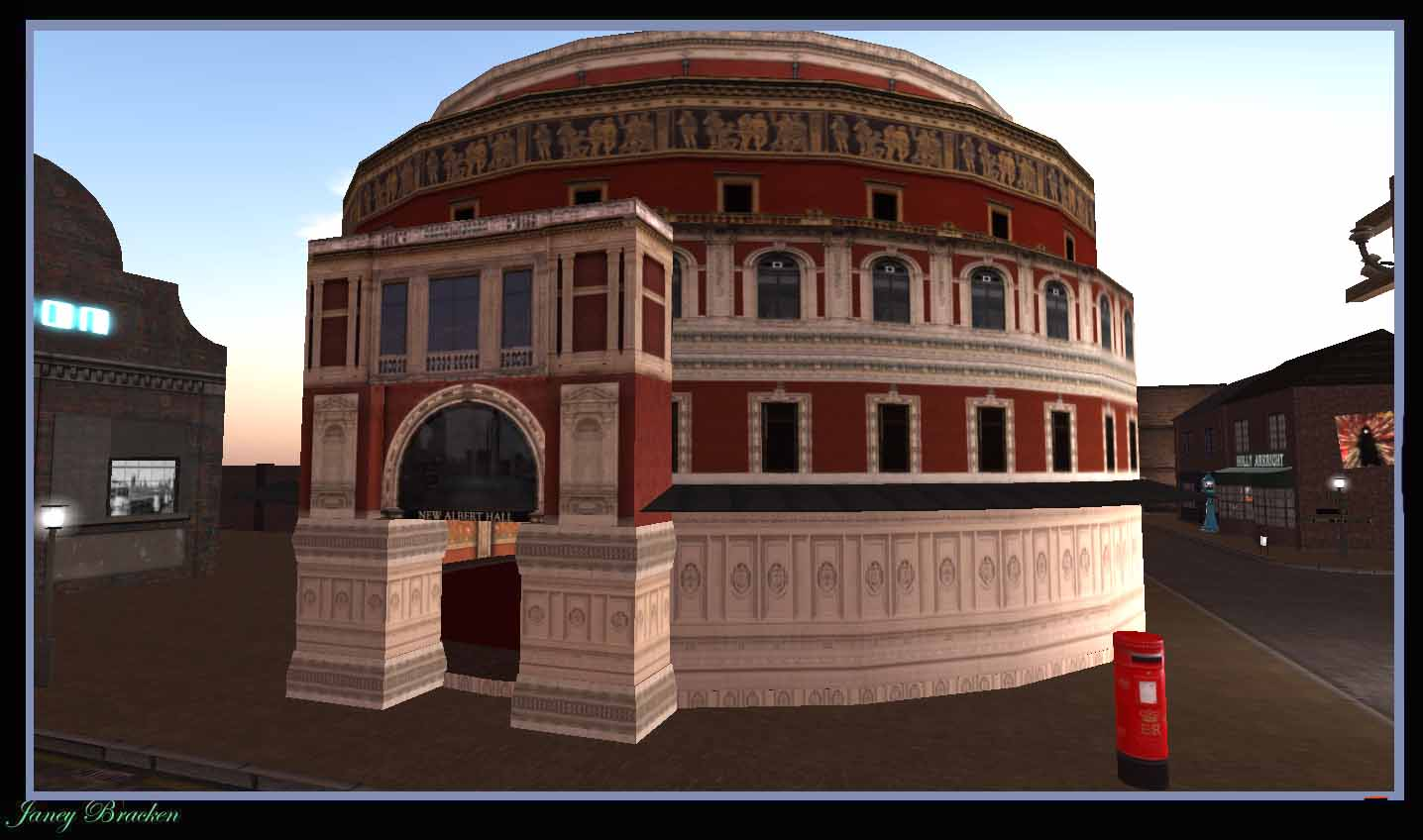 Virtually london lite the royal albert hall in the new for Door 12 royal albert hall
