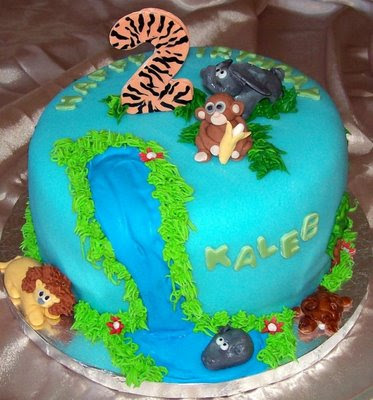 Ks Cakes Zoo Party