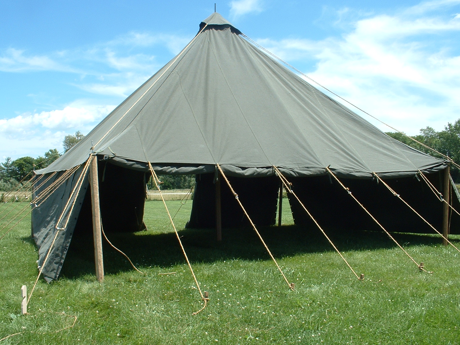 Armbruster now offers the 1934 Pyramidal tent just like we did during WWII. During WWII these tents were classified as Tent Fire-Resistant Pyramidal ... & 1934 Pyramidal Tent from Armbruster | Armbruster Tent Maker