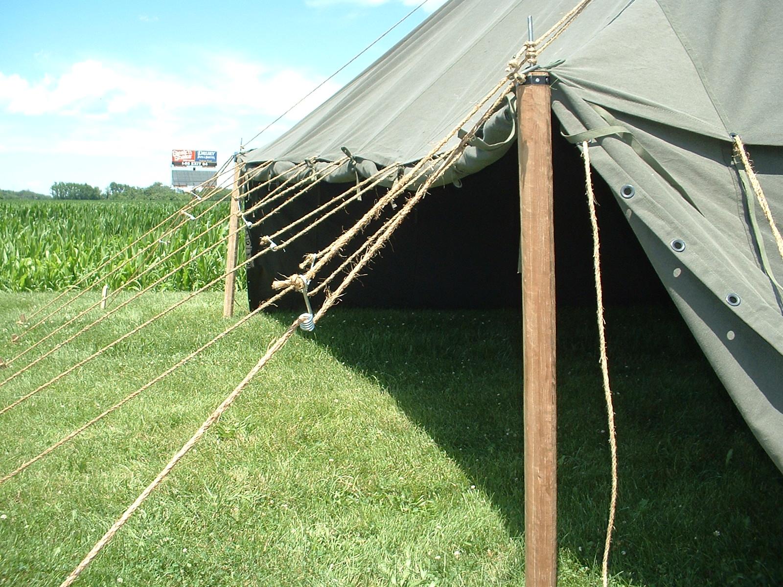 1934 Pyramidal Tent from Armbruster & 1934 Pyramidal Tent from Armbruster | Armbruster Tent Maker