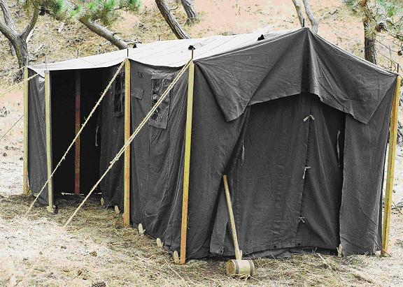 Armbruster 1942 Command Post Tent & Armbruster 1942 Command Post Tent | Armbruster Tent Maker