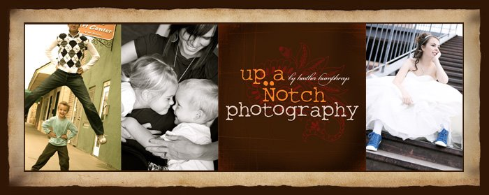 Up A Notch . . . . Portrait Photography