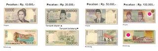 Uang Kertas Indonesia