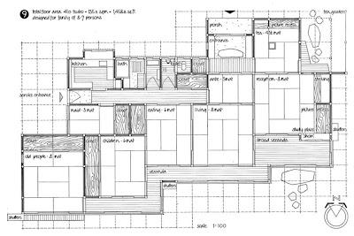 La casa giapponese moderna pianta casa giapponese for Casa moderna pianta