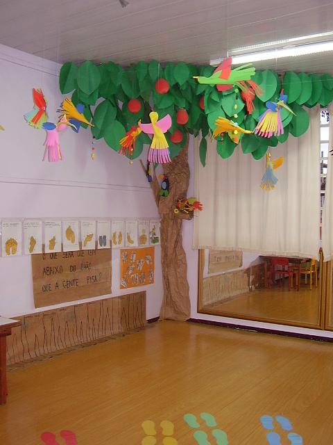 Trabalhos Pedagógicos ® Ideias para decoração de sala de aula