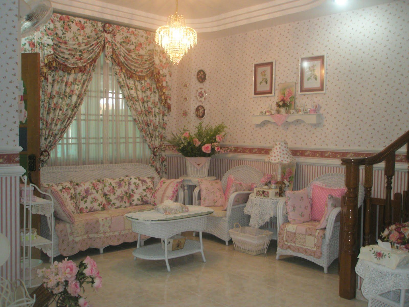 Hiasan dalaman ruang tamu ruang makan dan ruang dapur for Deco british style