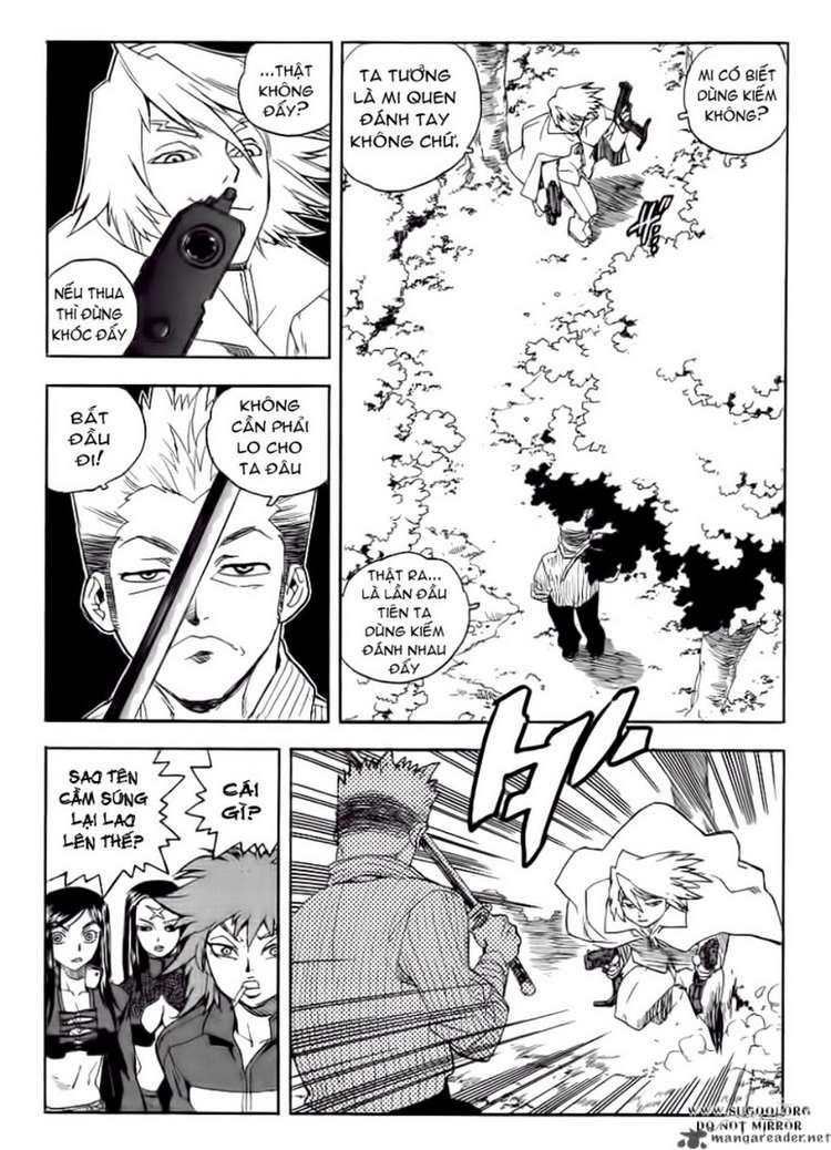 Aiki chap 64 - Trang 19