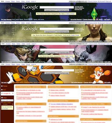 Game Themes in iGoogle