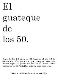 Carteles de los 50