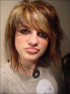 Emo Short Hairstyles part 01
