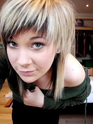 Short Girl Emo Hairstyles.A