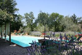 La piscina di Fortezza de' Cortesi