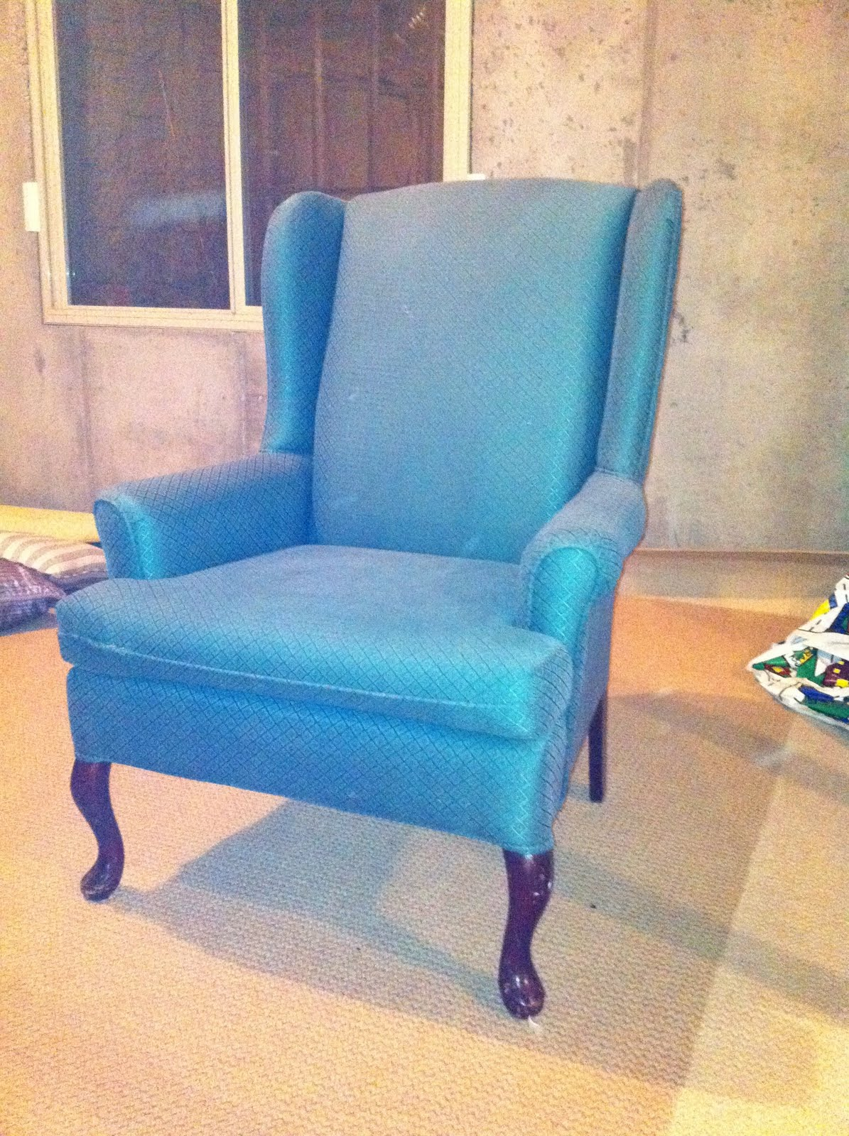 The Elusive Wing Back Chair