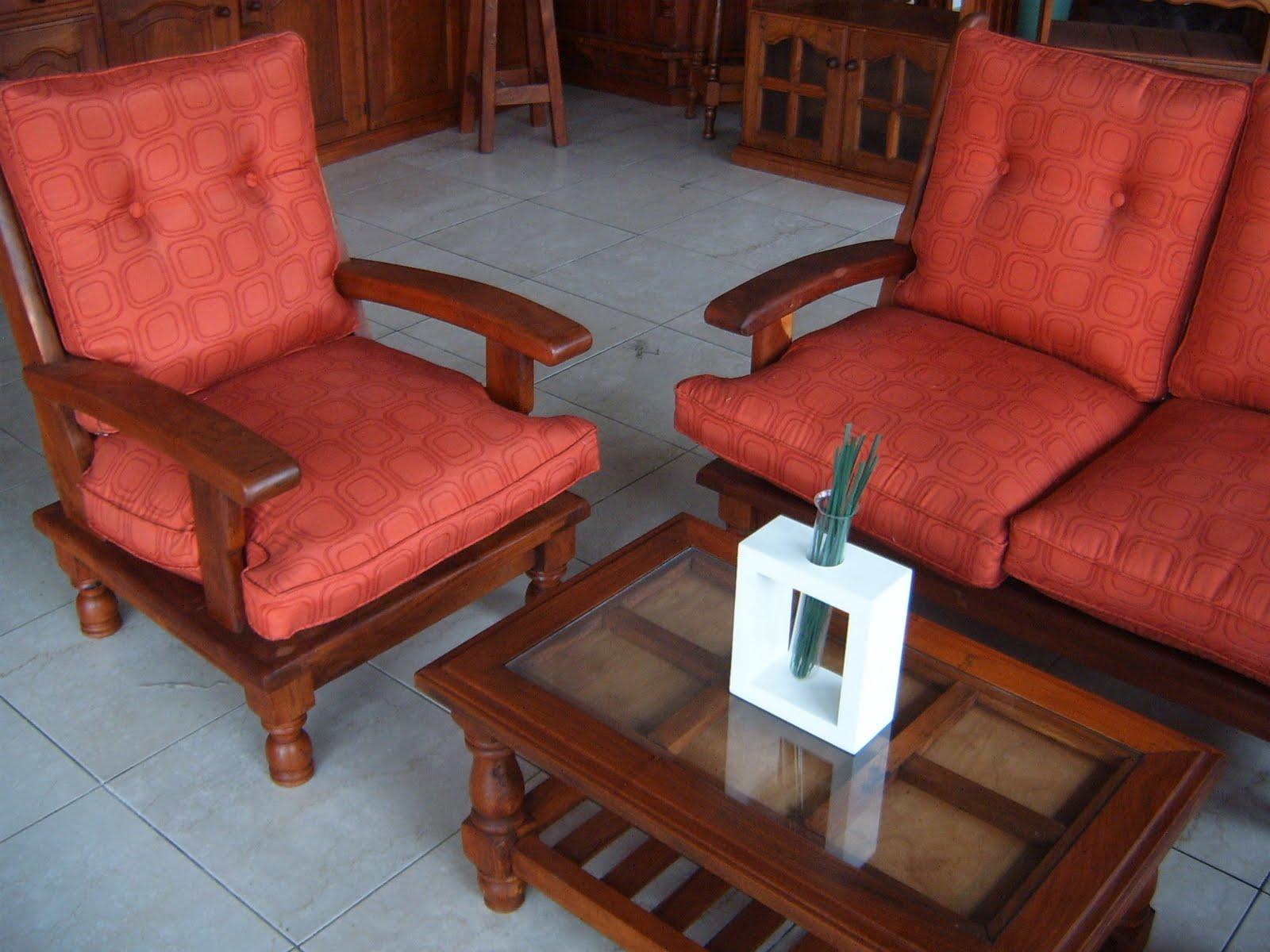 Living De Algarrobo Decoracion ~ MUNDOALGARROBO JUEGO DE LIVING DE ALGARROBO  PATOYIN