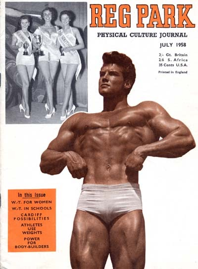 THE REG PARK JOURNAL bodybuilding magazine/Reg Park/MONA MAE and DEAN HIGUCHI 5-58