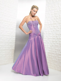 Designer prom dresses - purple prom dresses