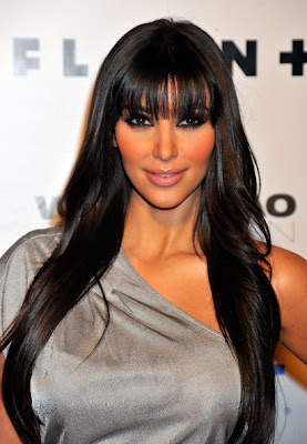 Kardashian Hairstyle on Trendy Hairstyles 4 Me  Kim Kardashian Hairstyles And Makeup
