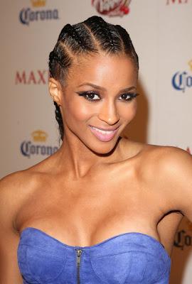 Ciara Hairstyles and Makeup Looks