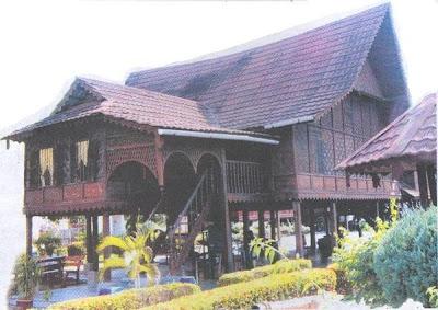 gambar rumah papan