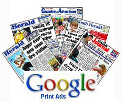 Google Print Ads Program