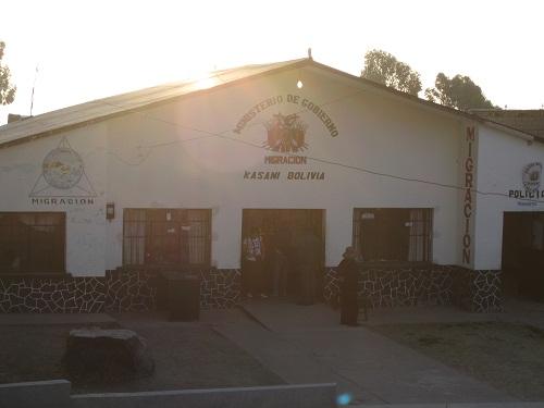 Grenzgebäude, Bolivien