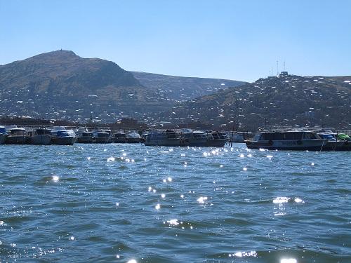 Titicacasee Hafen Puno