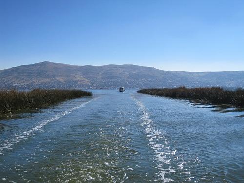 Titicacasee Schilfkanal