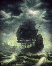 Pirats in storm